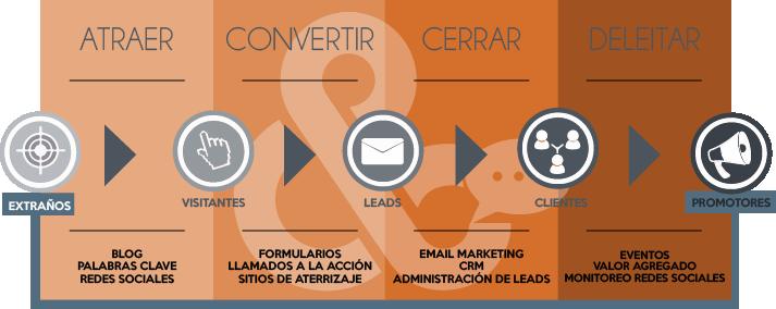 Proceso de Marketing Digital para Escuelas